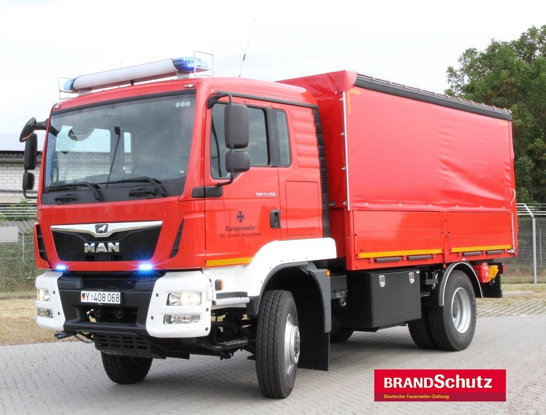 Bundeswehrfeuerwehr erhielt neuen Fahrzeugtyp