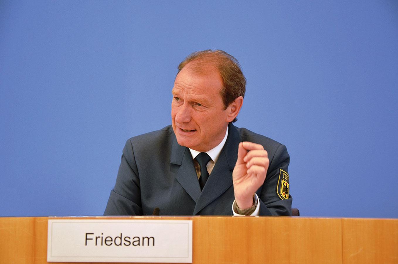 Neuer THW-Präsident: Gerd Friedsam