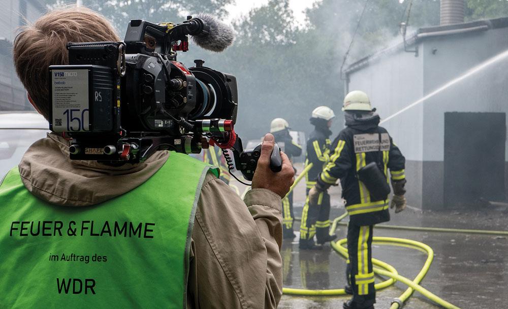 Start der neuen Staffel »Feuer & Flamme« mit der Feuerwehr Bochum