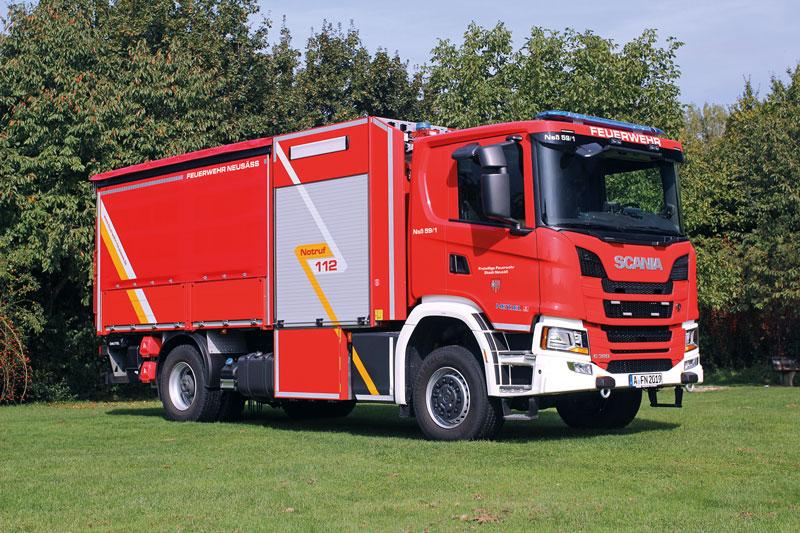 Gerätewagen GW-THU der Freiwilligen Feuerwehr Neusäß