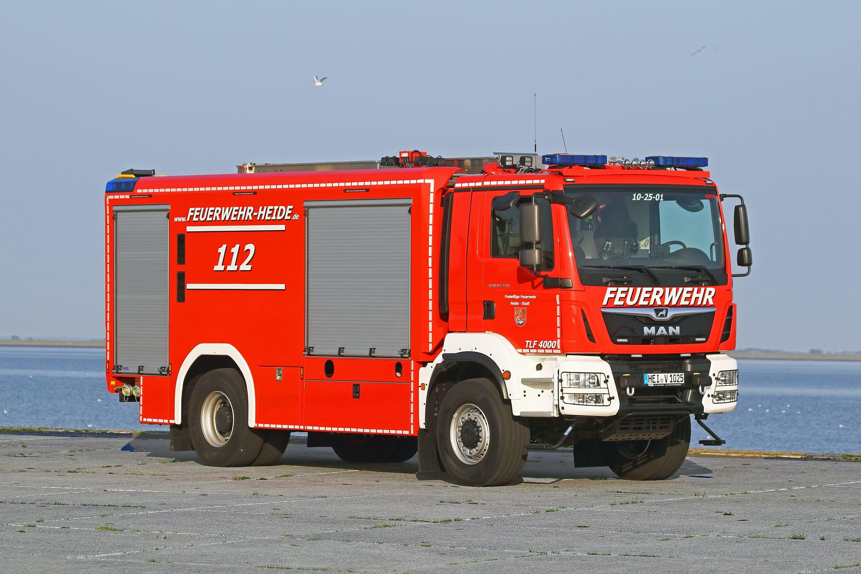 FF Heide: TLF 4000 von WISS
