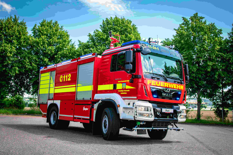 Ziegler liefert fünf TLF 4000 an den Landkreis Leipzig