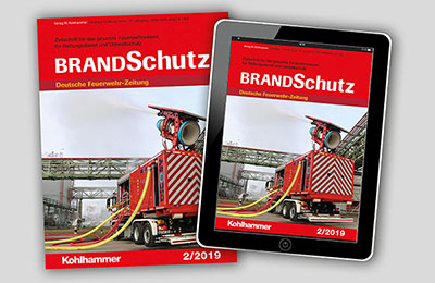 Probeabo BRANDSchutz/Deutsche Feuerwehr-Zeitung