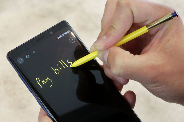 Samsung, Galaxt Note 9'u tanıttı