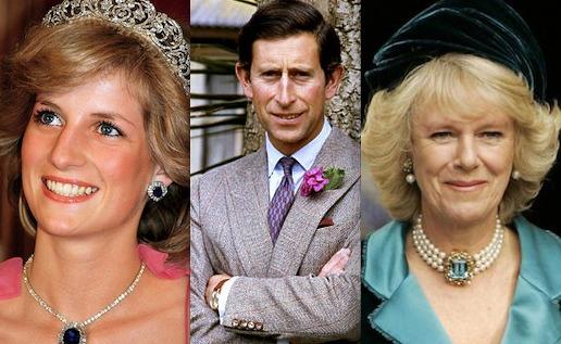 Prenses Diana, Prens Charles ve Camilla Parker'ın aşk üçgeni ve Diana'nın hüzünlü ölümü…