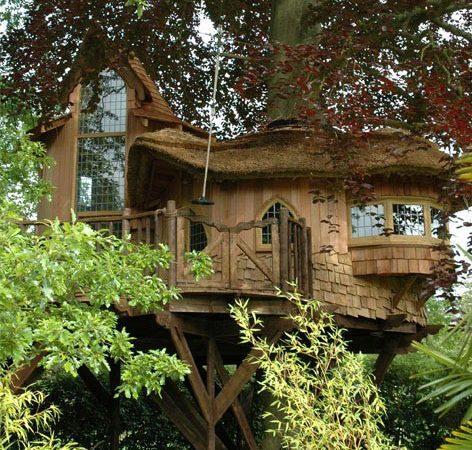 Dünyanın en güzel ağaç evleri… Rüya gibi…