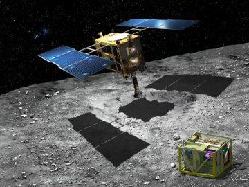 Bir robotun Ryugu gezegeninin yüzeyini kaydeden videosunu izlemek ister misiniz?