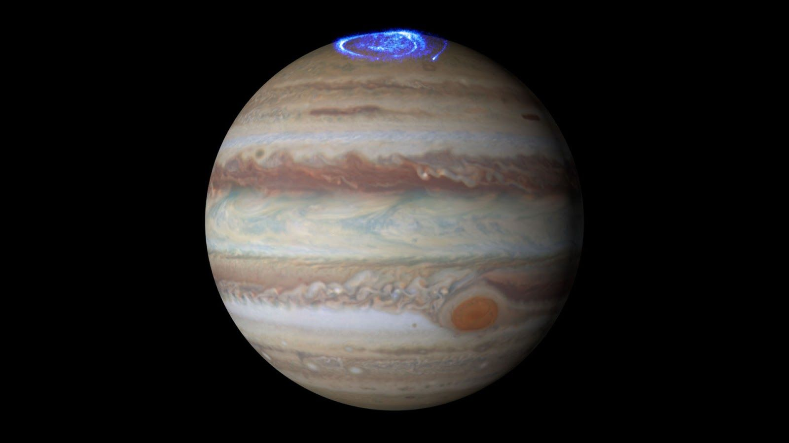 Jüpiter'in 2 güney kutbu var! Bunu da gördük!