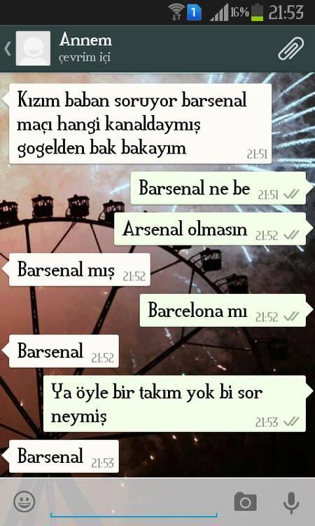 Annelerimiz ve babalarımız ile birbirinden komik ve troll WhatsApp konuşmaları