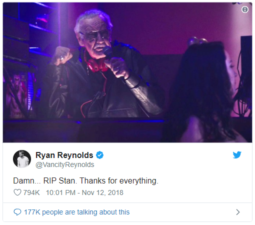 Stan Lee, sıradışı çizgi roman yazarı öldü