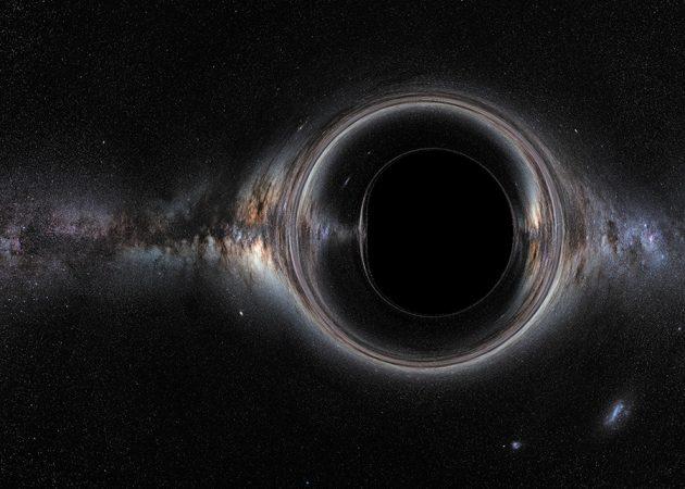 Galaksimizin süper kütleli kara deliği sanal gerçeklikte harika görünüyor
