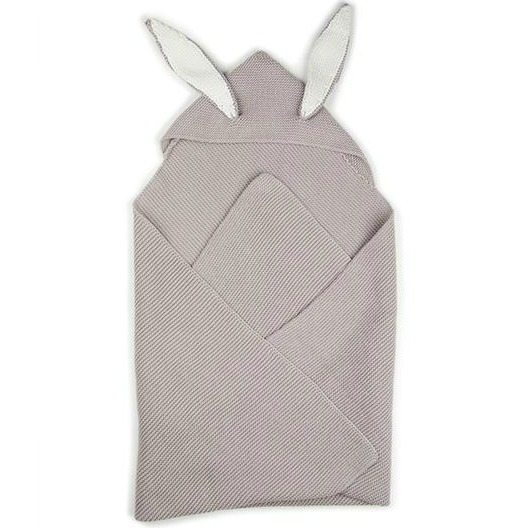 c6722dfb928 Oeuf bunny ears blanket – light grey