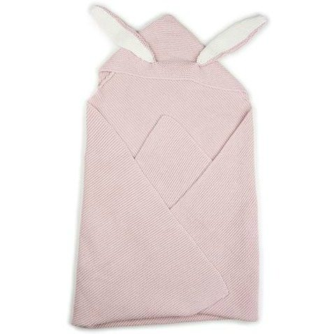c89560e605b Oeuf bunny ears blanket – light pink