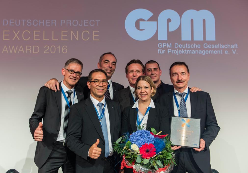 Preisträger des Deutschen Porject Excellence Award 2016