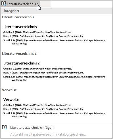 Das Literaturverzeichnis Deiner Hausarbeit 8