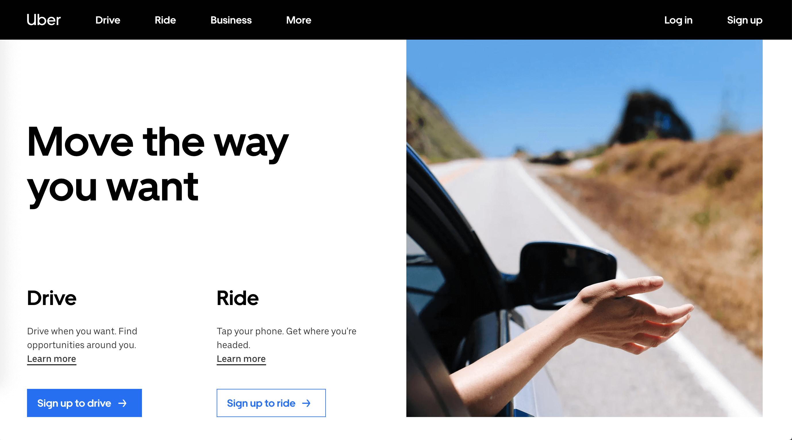 ux - User needs Uber