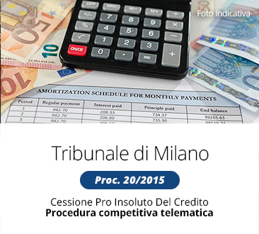 Immobili e box auto - Procedura competitiva telematica