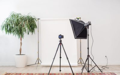 How to create a small DIY photo studio on a budget.