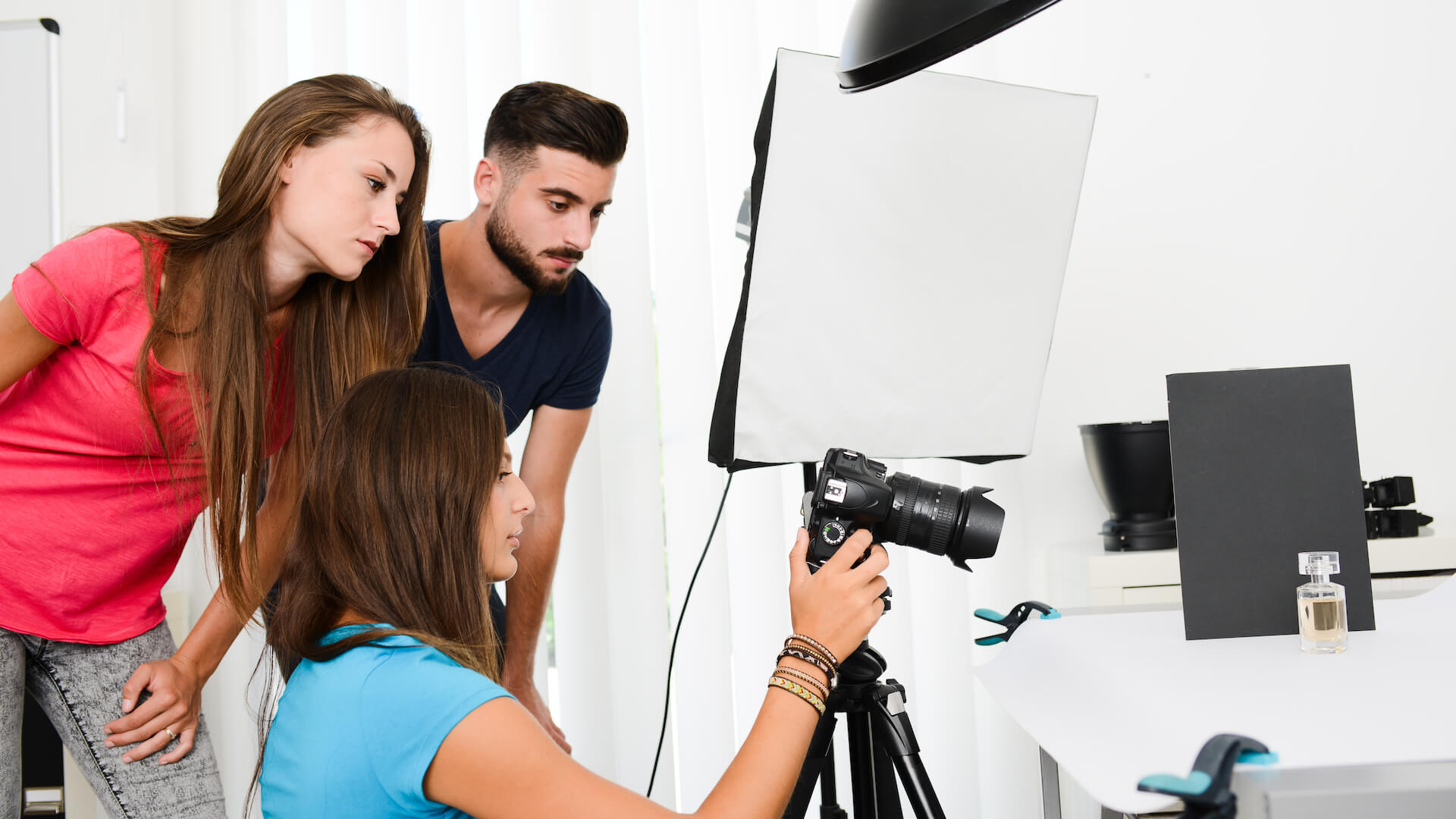 product photography at studio