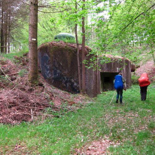 Bunker an der Maginot-Linie