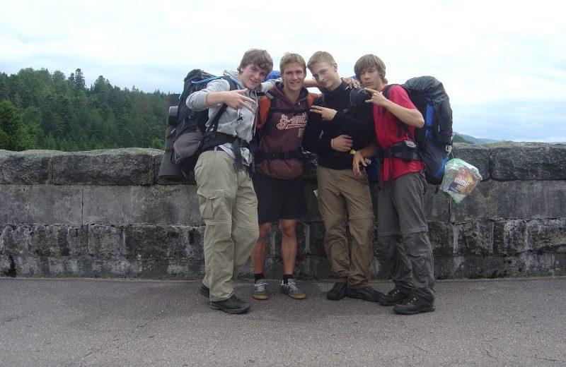 An der Schwarzenbachtalsperre