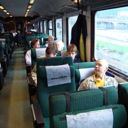 In der Bergenbahn