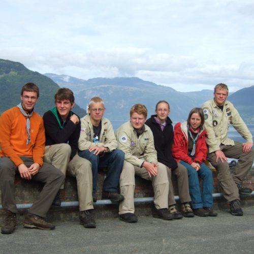 Die Gruppe auf dem Sommerlager