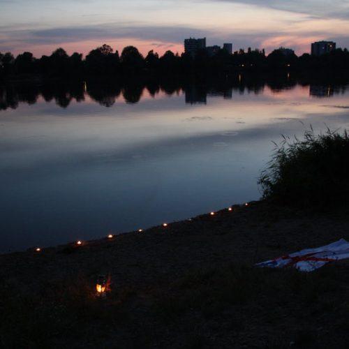 Versprechensfeier am Ufer des Gifizsees