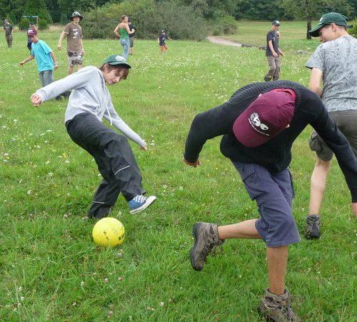 Rückwärts-Fußball in Perfektion