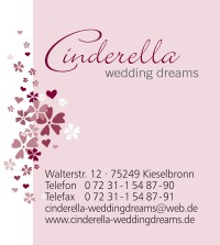 Logo Cinderella Wedding Dreams