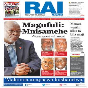 Magufuli  Mnisamehe