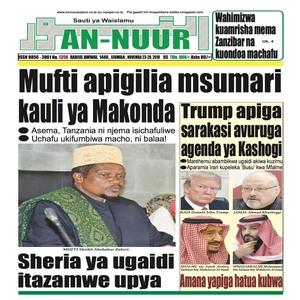 Mufti apigilia msumari kauli ya Makonda
