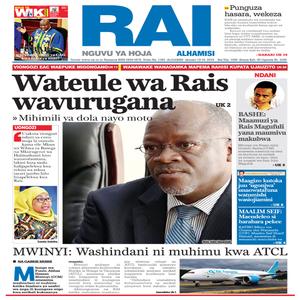 Wateule wa Rais wavurugana