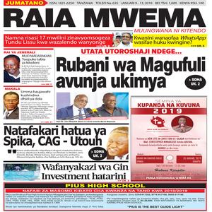 Rubani wa Magufuli avunja ukimya
