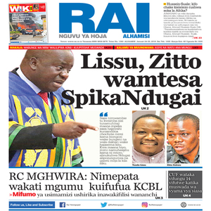 Lissu  Zitto wamtesa Spika Ndugai