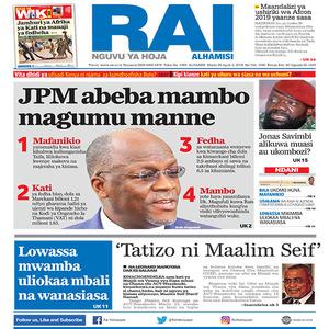 JPM abeba mambo magumu manne