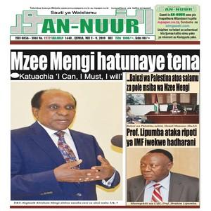 Mzee Mengi hatunaye tena