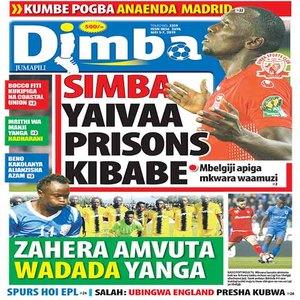 SIMBA YAIVAA PRISONS KIBABE