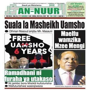 Suala la Masheikh Uamsho