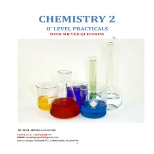 Chemistry practical for ordinary level