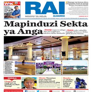 Mapinduzi Sekta ya Anga