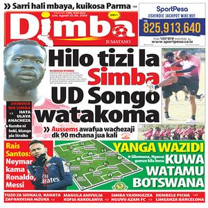 Hilo tizi la Simba UD Songo watakoma