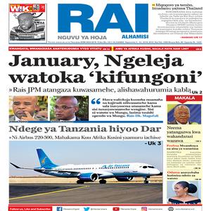 January  Ngeleja watoka  kifungoni
