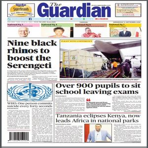 11 SEPT 2019  THE GUARDIAN