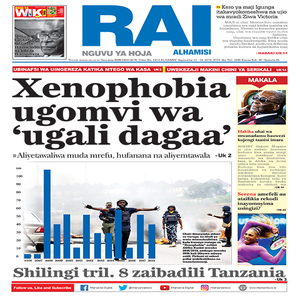 Xenophobia uomvi wa  ugali dagaa