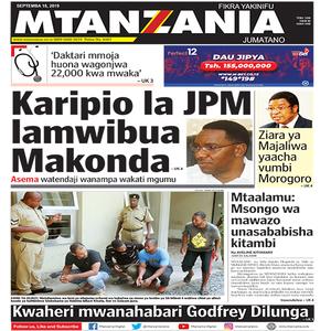 Karipio la JPM lamwibua Makonda