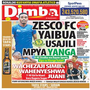ZESCO FC YAIBUA USAJILI MPYA YANGA