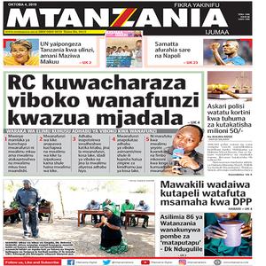 RC kuwacharaza viboko wanafunzi kwazua mjadala