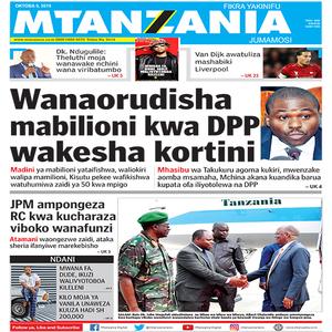 Wanaorudisha mabilioni kwa DPP wakesha kortini