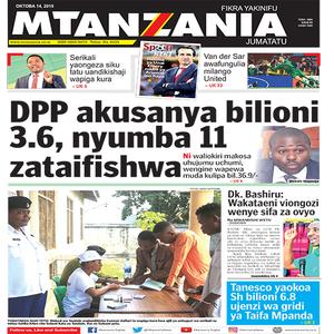DPP akusanya bilioni 3 6  nyumba 11 zataifishwa